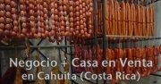 Venta de negocio mas vivienda, producimos embutidos españoles. Negocio de embutidos españoles