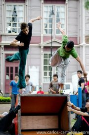 parkour shows, performance, entertaiment costa rica