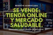 Tienda Saludable Negocio Online y Físico