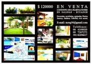 Conjunto de 8 Habitaciones en venta, en Salinas, Ecuador