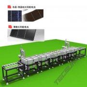 línea de fabricación de células solares fotovoltaicos de silicio amorfo