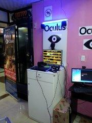 Negocio de atracción de gafas de realidad virtual Oculus Rift dk2