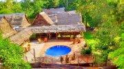 Lodge en el rio amazonas